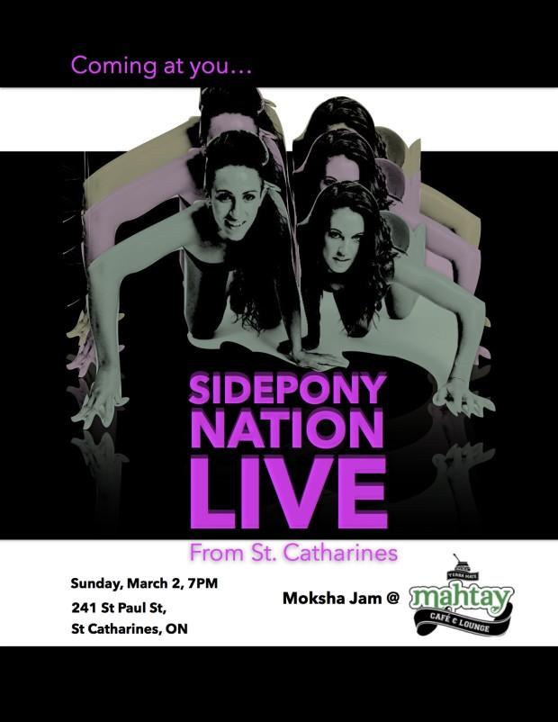 SIDEPONYNATION LIVE